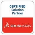 Solidworks certified solution partner badge